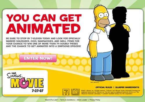 The Complete Gallery Of Simpsons Movie Marketing